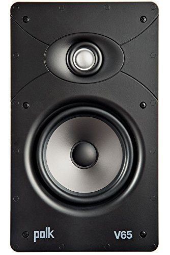 Polk V65 High Performance Vanishing In-Ceiling Speaker by Polk