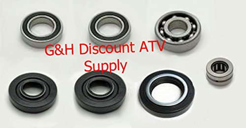 Quality Front Differential Bearing and Seal Kit for the 1988-2000 Honda TRX 300 4x4 FW ATVs ()