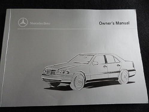 1996 mercedes benz c220 c280 c36 amg owners manual c 220 280 36 rh amazon com 1996 Mercedes E320 1996 Mercedes E320