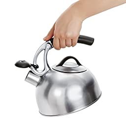 OXO Good Grips Uplift Tea Kettle, Brushed Stainless Steel