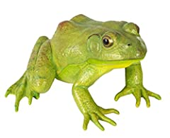 With its crouched back legs and watchful eyes, our Incredible Creatures American Bullfrog looks so realistic, you'll expect it to let out its characteristic croak and hop into a pond. The wild animals in our Incredible Creatures collection ar...