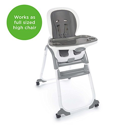 41myeZWtmSL - Ingenuity SmartClean Trio Elite 3-in-1 High Chair - Slate - High Chair, Toddler Chair, & Booster