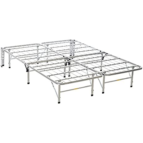 Serta SER BB1450Q Stable Base Bed Frames Silver Queen