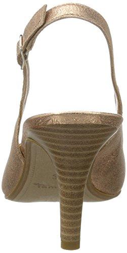Heels Metallic Tamaris Women's Black Rose Gold 952 Wedge 29614 Sandals UK 3 qatvgB