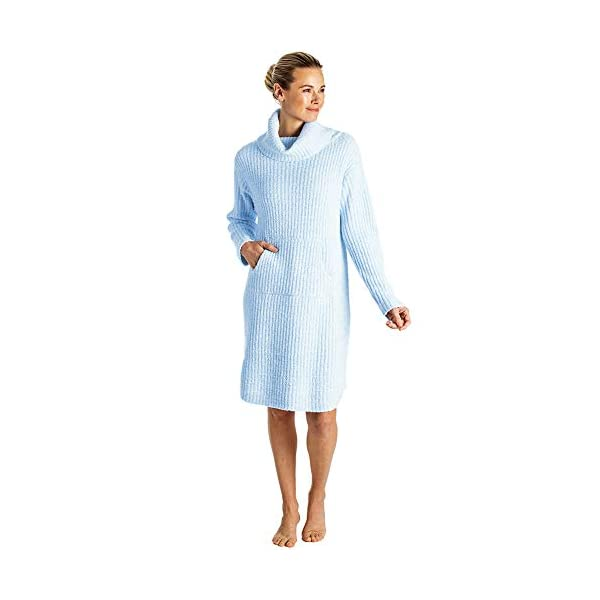 Softies Women's Ultra Soft Marshmallow Slouch Turtleneck Lounger, 2020 Oprah's Favorite Things