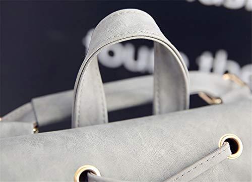 d'unité Les mode Brown frottent sac de d'école centrale en dos voyage dos sac filles femmes de de des le sacs de cuir TTCgwq