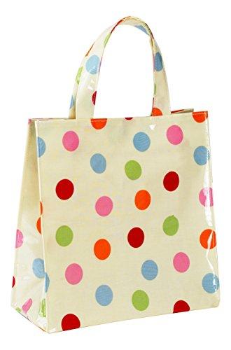 COOKSMART Gepunktete PVC - Tasche, Mehrfarbig, Klein