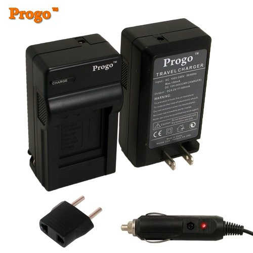 Progo LP-E6 Rapid Pocket Travel AC/DC Wall Charger with With