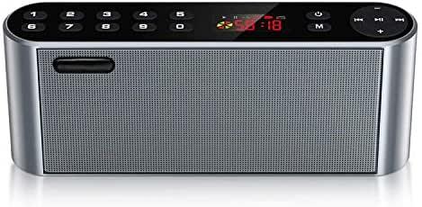 Altavoz Bluetooth Portatiles Radio FM, Altavoz Inalámbrico Estereo,NeKan Bluetooth Speaker con Audio HD y bajo Mejorado/Conductor Dual (Radio FM7): Amazon.es: Electrónica