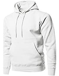"""<span class=""""a-offscreen"""">[Sponsored]</span>Men's Causal Solid Soft French Terry Long Sleeve Pullover Hoodie"""