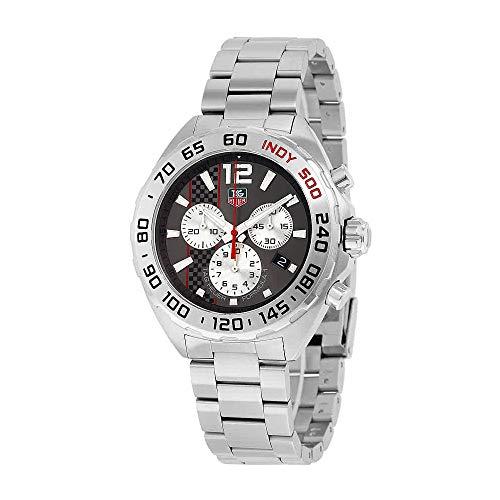 - TAG Heuer Men's CAZ1114.BA0877 Formula 1 Analog Display Swiss Quartz Silver Watch
