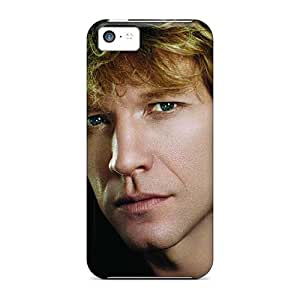 High Quality Mobile Case For Iphone 5c With Allow Personal Design Stylish Bon Jovi Skin AlainTanielian
