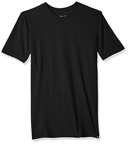 Hurley Men's Nike Dri-Fit Fabric Tee Shirt, Black, (Skate Fit T-shirt)