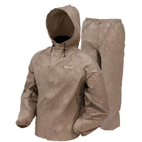 Frogg Toggs Ultra Lite Rain Suit Khaki Large UL12104-04LG (Kids Rain Gear compare prices)