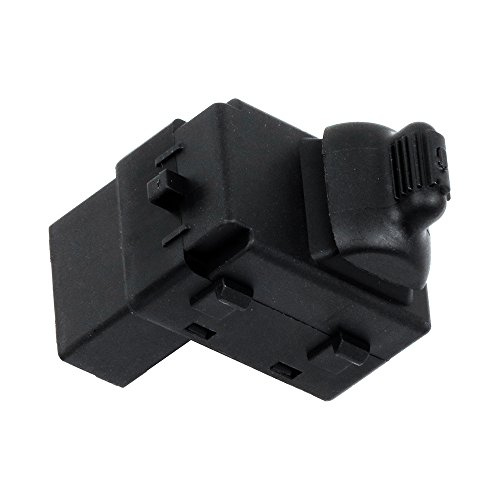 ROADFAR Power Window Switch Single Button Passenger Side Replacement Parts fits Chrysler Dodge 56007695AC