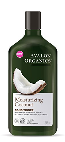 Avalon Organics Moisturizing Coconut Conditioner, 11 (Avalon Coconut)