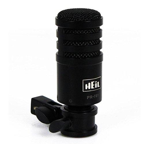 - PR-781 PR781 Orginal Heil Sound Black ProLine Performance Studio Microphone - Dynamic Desk Microphone for Elite Tranceivers and Podcasting - Original Heil Sound