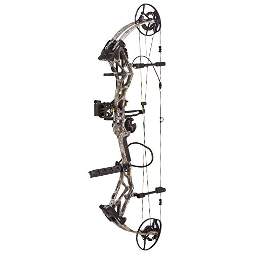 Bear Archery BR33 Hybrid Cam Compound Bow Includes Ready to Hunt Trophy Ridge Accessories For Sale