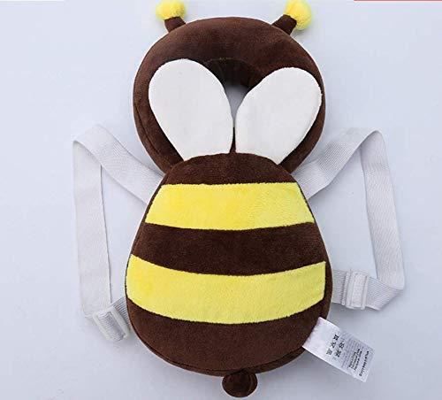 VPlus Baby Stillkissen Kleinkind Kopfschutz Sicherheits Pad Brown Bee Wings Sch/ützen Hals Drop Resistance Kissen Kids Kopfst/ütze Geeignet f/ür Alter 4-18 Monate Baby
