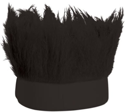 dolly2u Hairy Headband (Black) Case Pack 12 (Hairy Cowboy)