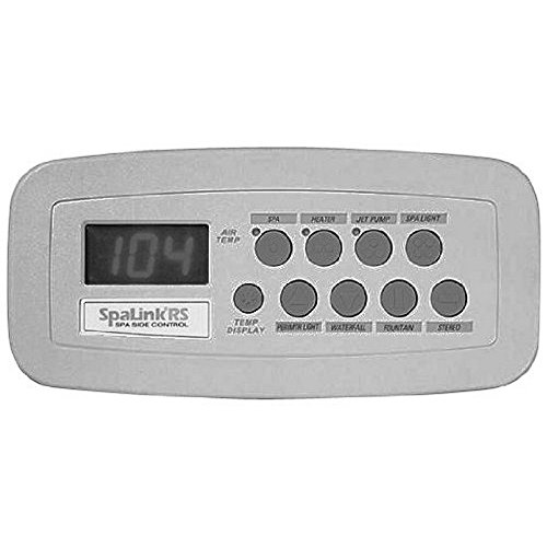 Zodiac 7887 Spalink Rs 8 Function Spa Side Remote, Gray by Zodiac