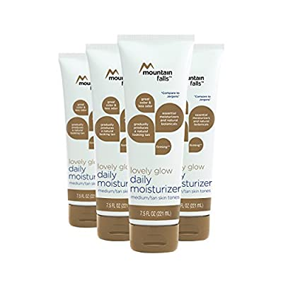 Lovely Glow Daily Moisturizer Lotion for Medium to Tan Skin Tone