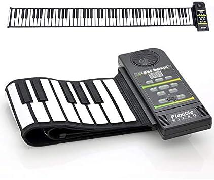 Flexible enrollable sintetizador teclado Piano - 88 teclas ...