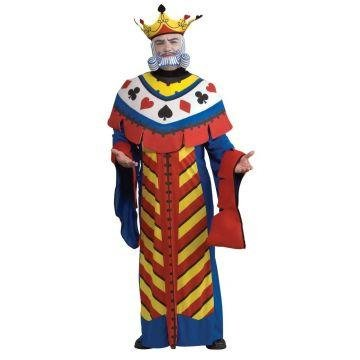 [Playing Card King Costume - Large - Chest Size 46] (Creative Halloween Costumes 1 Year Old)