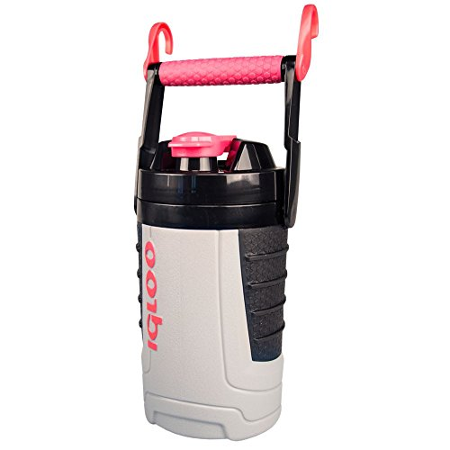 Igloo Proformance 1 Quart Sport Jug-Ash Gray/Watermelon, Gray