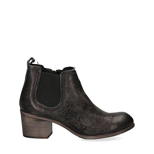 Preto Beatle Leather Felmini Lucilam Black 6wq7pE