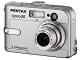 Pentax Optio 50 5MP Digital Camera with 3x Optical Zoom For Sale