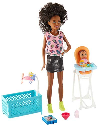 Barbie Skipper Babysitters Inc. Doll and Feeding Playset from Barbie