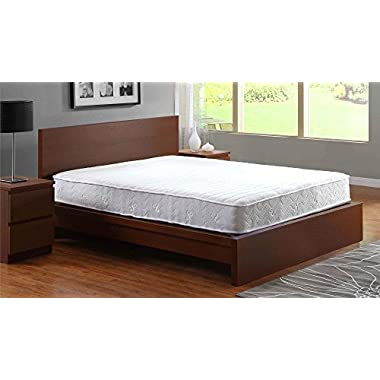Signature Sleep Contour 8 Inch Independently Encased Coil Mattress with Low VOC CertiPUR-US Certified Foam, 8 Inch Queen Coil Mattress - Available in Multiple Sizes