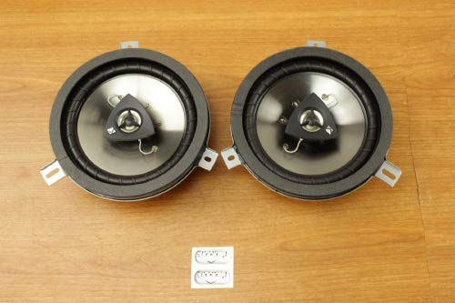 Chrysler Jeep Dodge 6.5inch Kicker Speaker Upgrade Set of 2 Mopar OEM ()