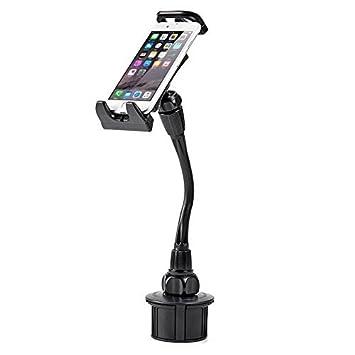iKross Soporte Móvil Coche Universal Montaje Cuello de Cisne Multi-Ángulo con Sostenedor 360° Rotación para Smartphone Móviles iPhone GPS: Amazon.es: ...