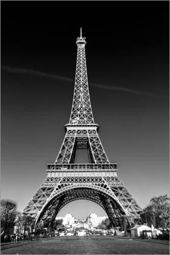 Posterlounge Alu Dibond 20 x 30 cm: LA Tour Eiffel * Paris de Sascha Kilmer
