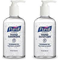 Purell Refreshing Gel Hand Sanitizer Pump Bottle, 236 ml (Pack of 2)