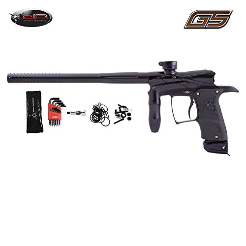Dangerous Power G5 Paintball Gun - Black / Black