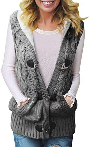 Dokotoo Cardigans Sweater Outwear Pockets