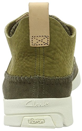 Flex Trigenic Mode Clarks Baskets Homme Originals Green Vert Forest qFAnU6E
