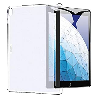 ESR Clear Case for iPad Air 3 / iPad Pro 10.5 Rear Case, [Fits with Smart Keyboard and Smart Cover] Slim Fit Back Shell Cover Yippee Hard Shell Cover for iPad Air 3 2019 / iPad Pro 10.5 2017