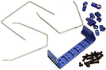 Integy RC Model Hop-ups C28411BLUE Anti Roll Stabilizer Sway ...