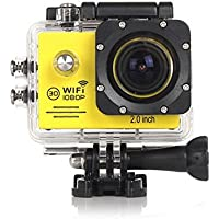 Reachs Sj7000 Waterproof Action Sports Wireles Wifi Hd 1080p 2.0 Inch Remote Camera 170° Wide Angle Lens