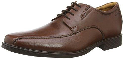 Marrone brown Stringate Clarkstilden Scarpe Leather Uomo Walk qTIpwH