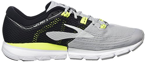 Brooks Mens Neuro 3 Gray / Black / Nightlife