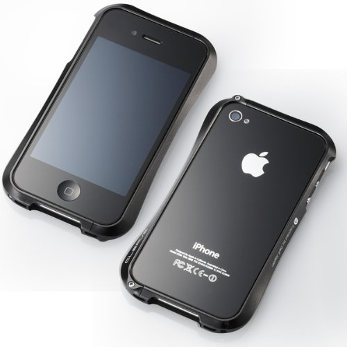sneakers for cheap 434b0 eada3 Cleave Aluminum Bumper for iPhone 4S/4 (Meteor Black)