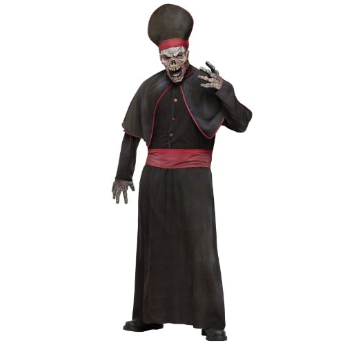 Fun World Zombie High Priest Adult Costume-Standard