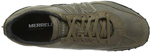 Merrell SPRINT BLAST LEATHER - sneakers Marrone (Gunsmoke/White)