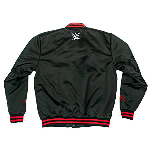 WWE nWo Wolfpac Vintage Chalk Line Jacket Black Small by WWE Authentic Wear (Image #1)