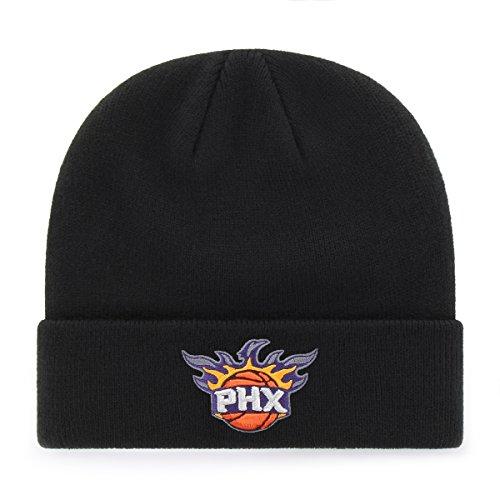 fan products of NBA Phoenix Suns OTS Raised Cuff Knit Cap, Black, One Size